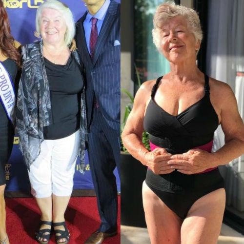 Grandma Fitness, que perdió más de 28 kg a los 73 años, demuestra que nunca es tarde para comenzar 10
