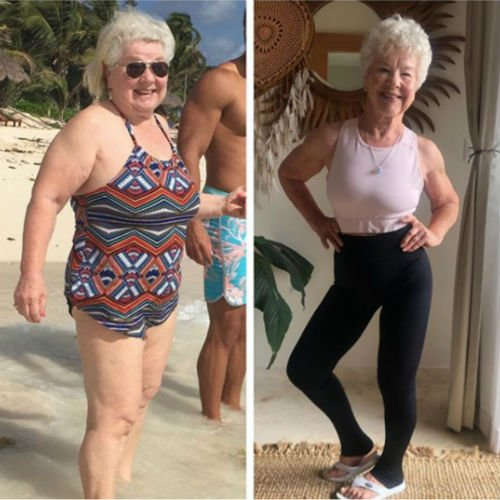 Grandma Fitness, que perdió más de 28 kg a los 73 años, demuestra que nunca es tarde para comenzar 8