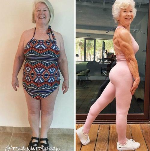 Grandma Fitness, que perdió más de 28 kg a los 73 años, demuestra que nunca es tarde para comenzar 2