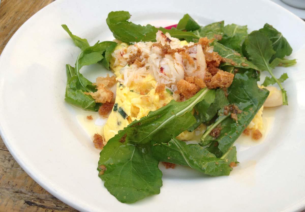 omelete com repolho