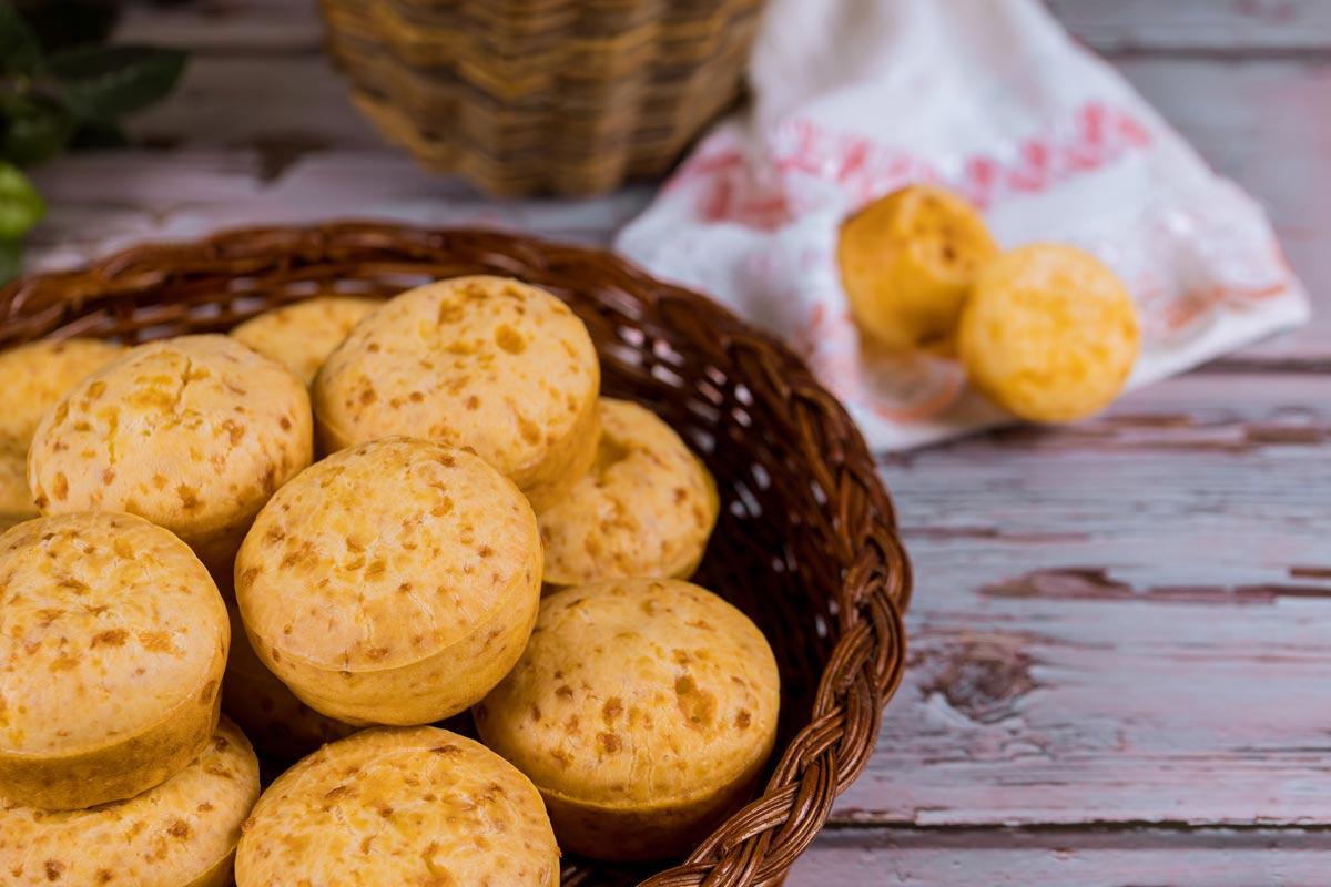 pao de queijo de batata doce