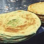 Receita de pão árabe de cenoura saudável