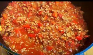 chilli mexicano - passo 4