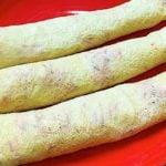 Receita de crepioca fit com cenoura e gergelim