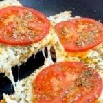 Receita de Pizza de Frigideira Saudável e Deliciosa - Fácil, Rápida e Pronta em Minutos