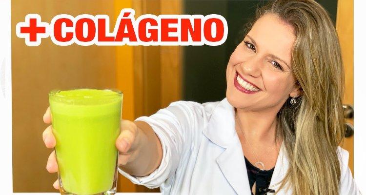 Suco de colágeno