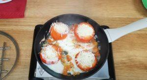 tomate recheado - Passo 4