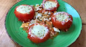 tomate recheado - Passo 5