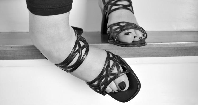 Torção no pé