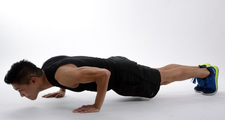 Treinar tríceps em casa