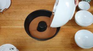 Bolo de chocolate - Passo 3