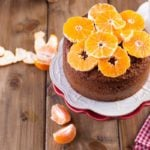 Receita de bolo de tangerina fit sem glúten, farinha e manteiga