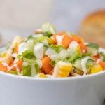 Receita de salada de cenoura saudável e gostosa