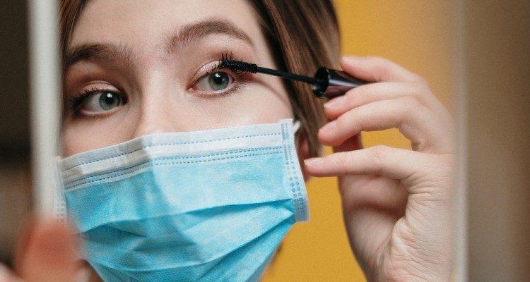 Coronavírus nos olhos