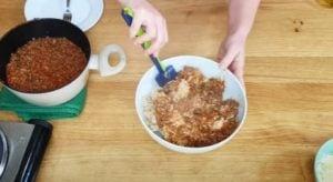 Arroz de carne moída - Passo 4