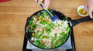 Refogado de Frango com Legumes - Passo 2