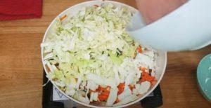Rocambole de legumes - Passo 2