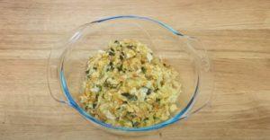 Rocambole de legumes - Passo 3