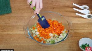 Salada de Frango Fit - Passo 3