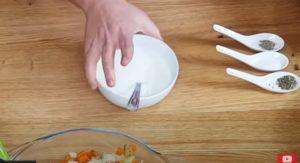 Salada de Frango Fit - Passo 4