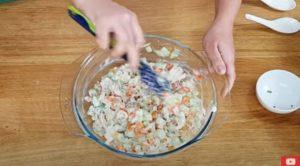 Salada de Frango Fit - Passo 5