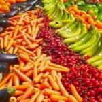Calendário da época das frutas e vegetais no Brasil