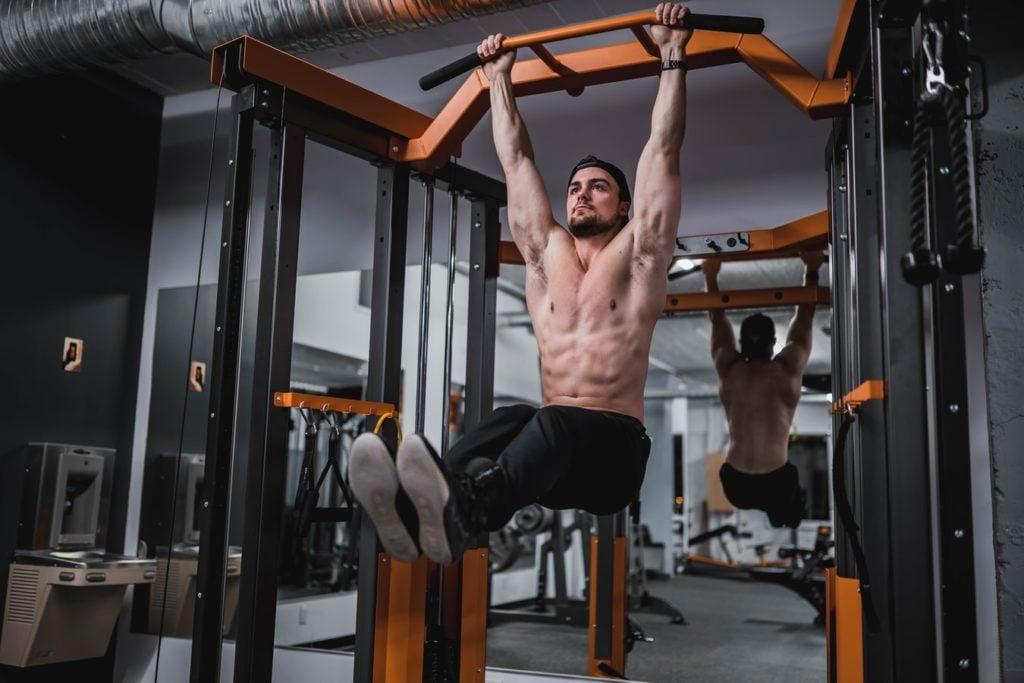 ganhar massa muscular na academia