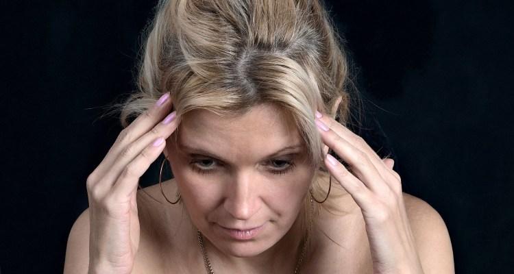 Mulher na menopausa