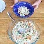 Receita de salada de cenoura com chuchu e frango
