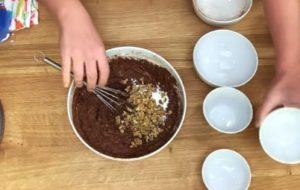 Bolo de Chocolate Fit Low Carb - Passo 3