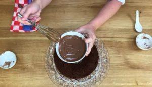 Bolo de Chocolate Fit Low Carb - Passo 5