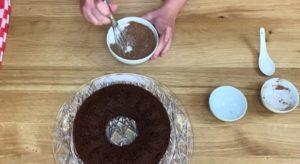 Bolo de Chocolate Fit Low Carb - Passo 5b