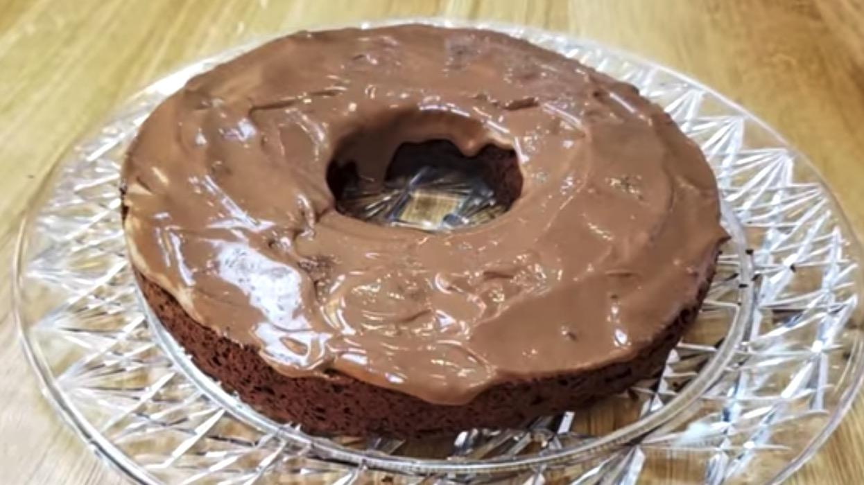 Bolo de Chocolate Fit Low Carb