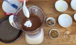 Brownie Fit Low Carb Destaque - Passo 2