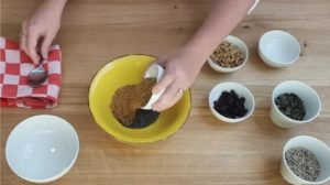 Granola Low Carb - Parte 1