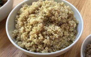 Hamburguer Vegano Fit de Quinoa - passo 2