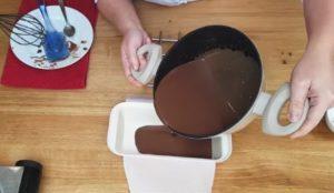 Mousse de Chocolate de Corte - Passo 5