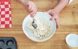 Pão de Queijo Fit e Saudável - Passo 2