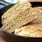 Receita de pão de aveia na frigideira, delicioso e fácil