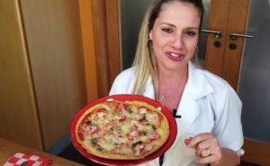 Receita de Pizza Fit Low Carb - Passo 5