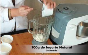 Receita de Shake Proteico de Morango - Passo 1