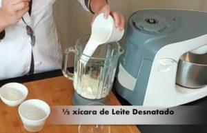 Receita de Shake Proteico de Morango - Passo 2