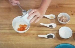 Sanduíche Low Carb bom para Diabetes - Passo 1