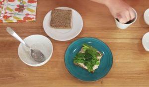 Sanduíche Low Carb bom para Diabetes - Passo 3
