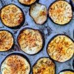 Receita de berinjela recheada com legumes