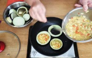 berinjela recheada com legumes - parte 3