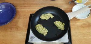 bolinho de brocolis com aveia - passo 3