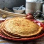 Receita de crepioca de maçã com canela e chia, saudável e deliciosa
