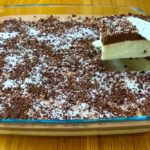 Receita de delícia de coco com chocolate low carb e sem açúcar