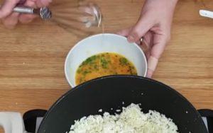 risoto com arroz de couve flor - passo 4